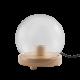 MOMAX 實木燈泡底座連玻璃燈罩 (球體) VPD0094