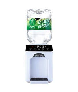 屈臣氏 - Wats-Touch Mini 即熱式溫熱水機 (白) + 48樽8公升樽裝蒸餾水
