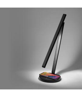 Momax Bright IoT智能檯燈連無線充電 (黑)