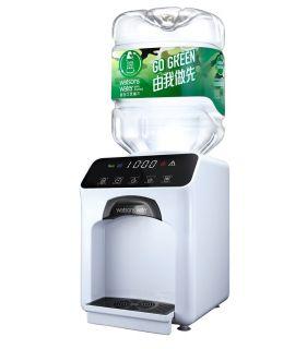 屈臣氏家居水機 -  Wats-Touch即熱式冷熱水機 (白) + 48樽8公升樽裝蒸餾水