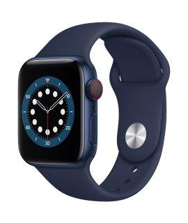Apple Watch S6 40mm GPS (鋁金屬錶殼: 藍色) (運動錶帶:海軍深藍色)