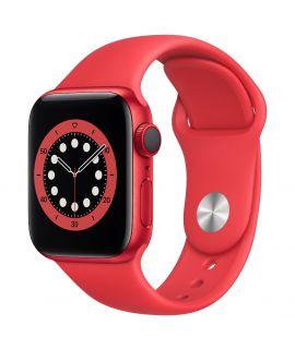 Apple Watch S6 40mm GPS (鋁金屬錶殼: 紅色) (運動錶帶: 紅色)
