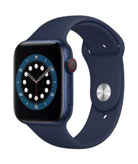 Apple Watch S6 44mm GPS (鋁金屬錶殼: 藍色) (運動錶帶:海軍深藍色)