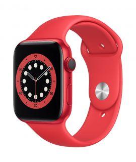 Apple Watch S6 44mm GPS (鋁金屬錶殼: 紅色) (運動錶帶: 紅色)