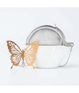 CHICHI 茶具 - Fly Butterfly C/U (Rose Gold)