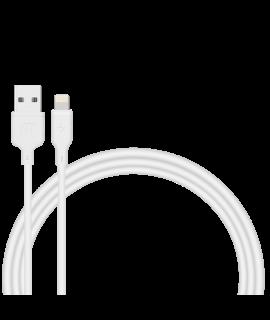 Momax Zero Lightning to USB-A 1M 連接線 (白)