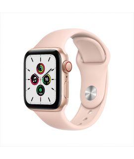 Apple Watch SE 40mm GPS (鋁金屬錶殼: 金色) (運動錶帶: 淺粉紅色)