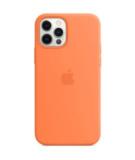 Apple Silicone Case with MagSafe iPhone12/12Pro KUMQUAT