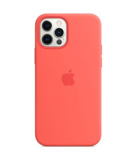 Apple Silicone Case with MagSafe iPhone12/12Pro PINK CITRUS