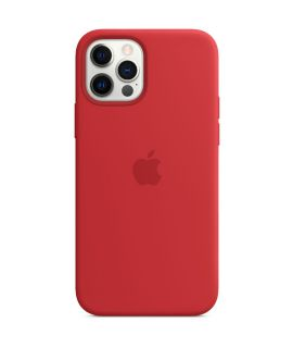 Apple Silicone Case with MagSafe iPhone12/12Pro RED