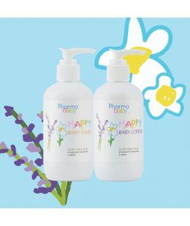 Pharmabelle 嬰兒(蘆薈底)沐浴露及潤膚乳  (薰衣草及洋金菊)