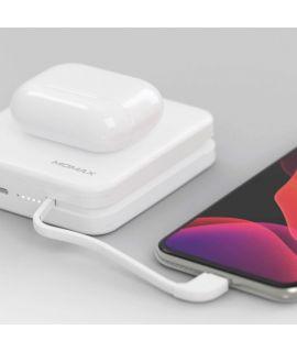 MOMAX Q.Power 無線便攜快速充電器 (Mfi) (白色)