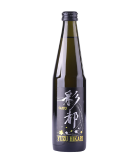 Saito Yuzu Sparkling Sake 300mL 12-bottle set