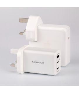 Momax One Plug 3-USB 智能充電器 (白)