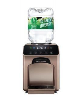 屈臣氏家居水機 -  Wats-Touch即熱式冷熱水機 (古銅金) + 48樽8公升樽裝蒸餾水