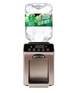 屈臣氏 - Wats-Touch Mini 即熱式溫熱水機 (古銅金) + 48樽8公升樽裝蒸餾水
