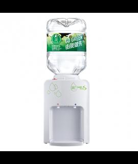 屈臣氏 - Wats-MiniS 座檯式溫熱水機 (白) + 4樽8公升樽裝蒸餾水