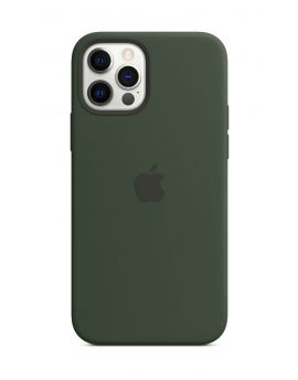 Apple Silicone Case with MagSafe iPhone12/12Pro CYPRESSGREEN
